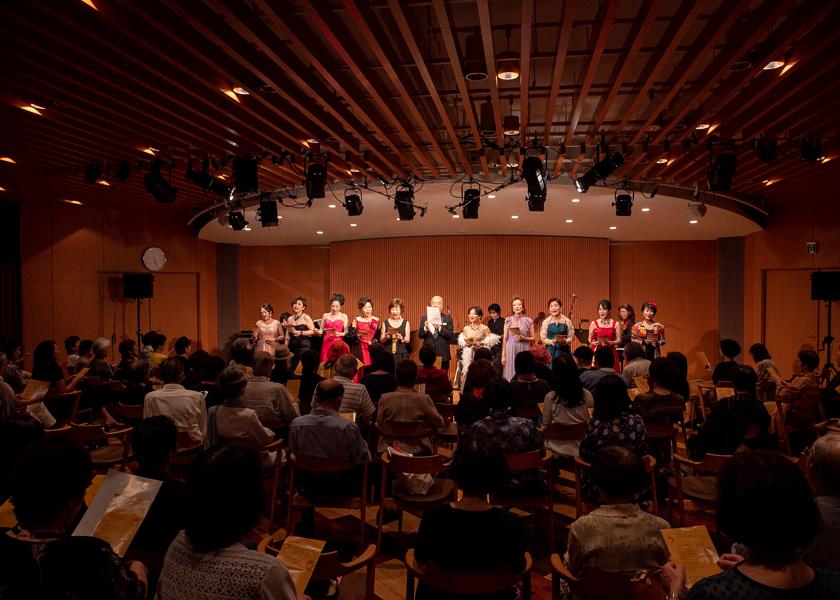 名古屋 舞台撮影 合唱