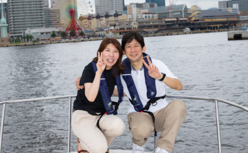 神戸 モザイク 船 写真